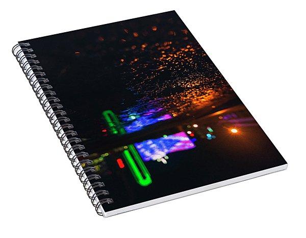 Burning Banner Spiral Notebook