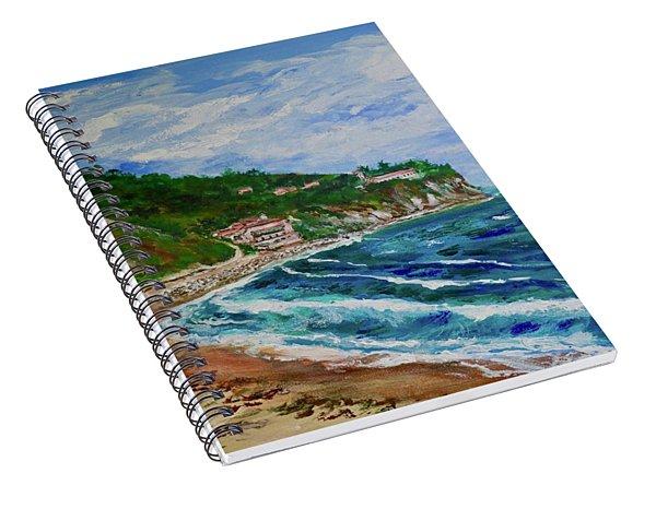 Burnout Beach, Redondo Beach California Spiral Notebook