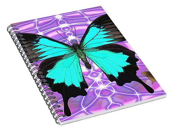 Butterfly Patterns 19 Spiral Notebook