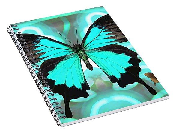 Butterfly Patterns 22 Spiral Notebook