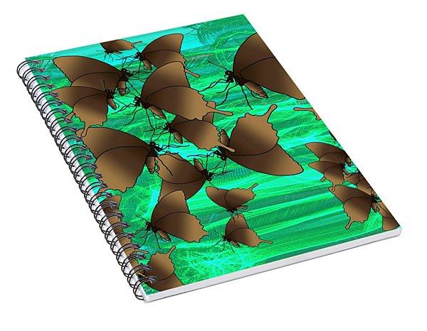 Butterfly Patterns 3 Spiral Notebook