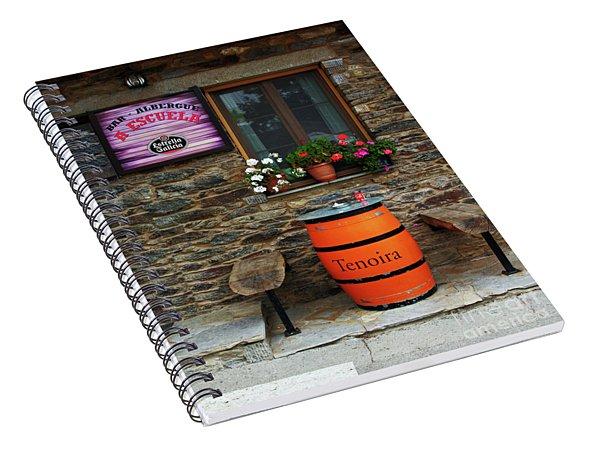 Camino Pilgrim's Repast Spiral Notebook
