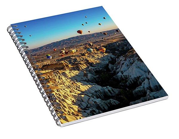Capadoccia Spiral Notebook