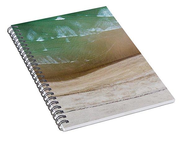 Cape Cod Beach Abstract Spiral Notebook