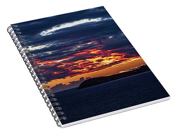 Caribbean Sunrise I Spiral Notebook