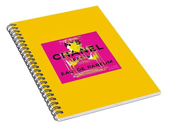 Chanel No 5 Pop Art - #3 Spiral Notebook