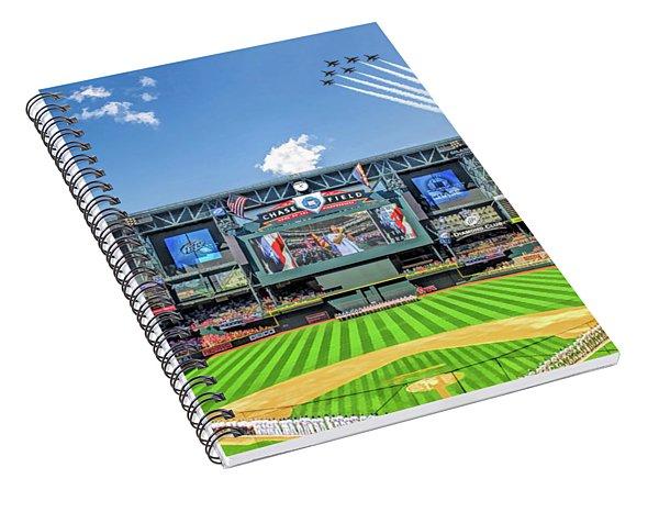 Chase Field Arizona Diamondbacks Spiral Notebook