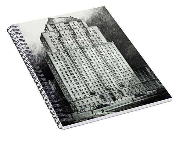 Chateau Crillon Spiral Notebook