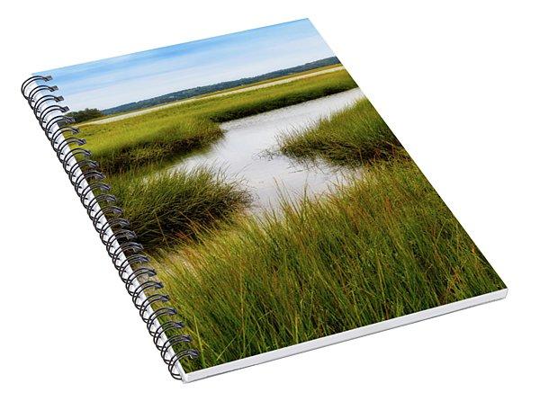 Choate Is. Estuary Ipswich Ma. Spiral Notebook