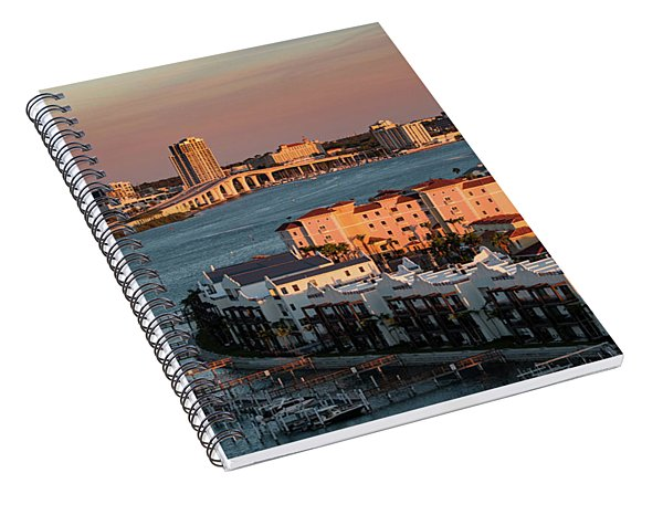 Clearwater Evening Spiral Notebook