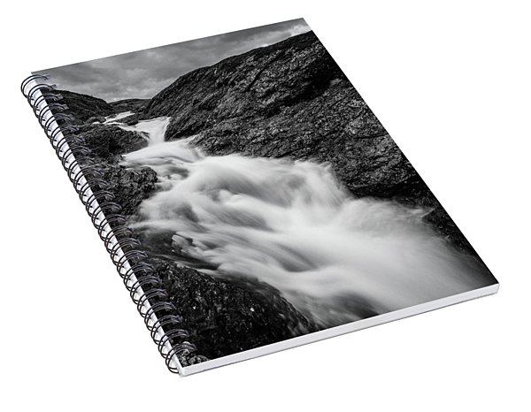 close to Ygnisdalselvi, Norway Spiral Notebook