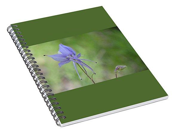 Columbine Details Spiral Notebook
