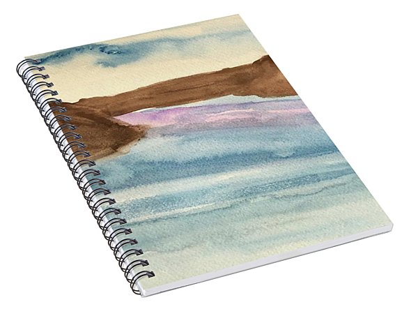 County Lake Spiral Notebook
