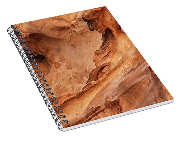 Crack Canyon Spiral Notebook