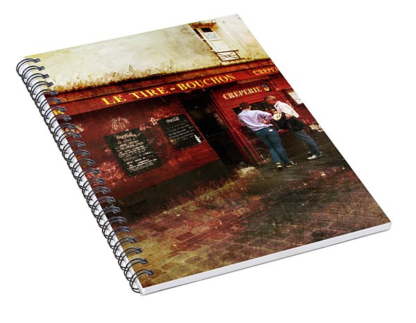 Creperie Spiral Notebook