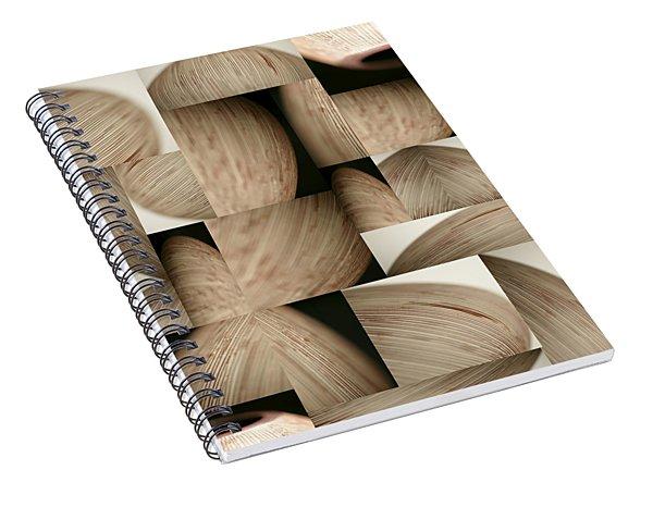 Crescents Spiral Notebook
