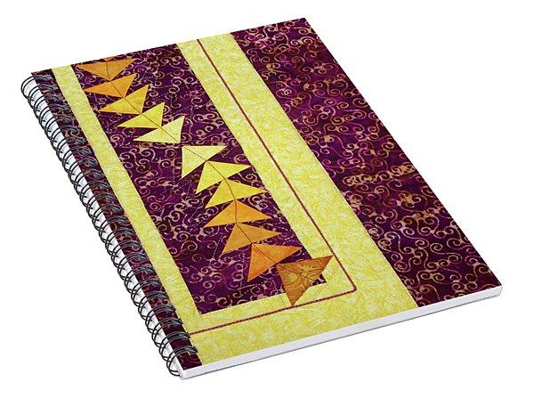 Dancing Geese Spiral Notebook