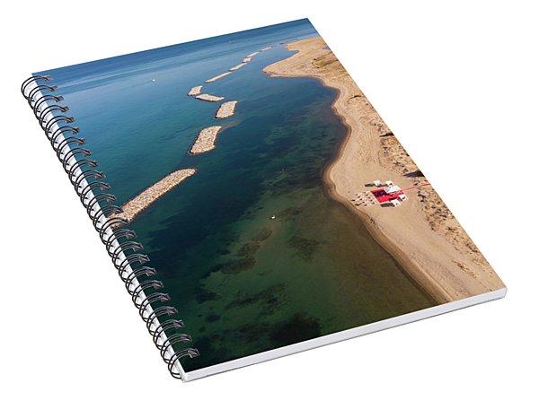 Dashed Line Spiral Notebook