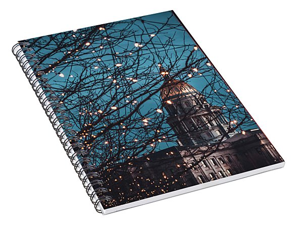 Denver, Colorado Capitol Building Spiral Notebook