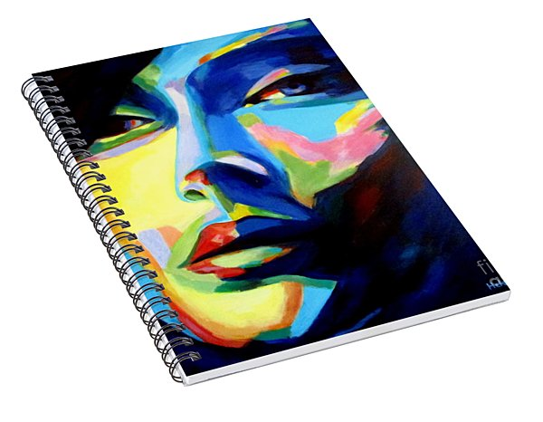 Desires And Illusions Spiral Notebook