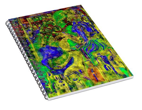 Digital Mind That Hot Tea Spiral Notebook
