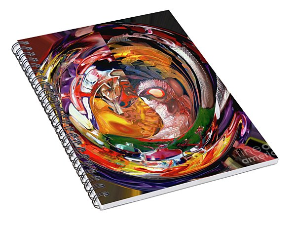 Digital Something To Shout About Spiral Notebook