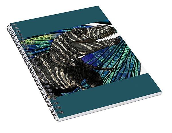 Dinosaur Tyrannosaurus Head Spiral Notebook