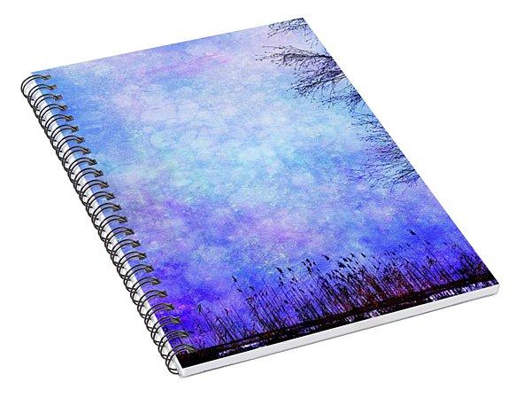 Dreamy Blue Spiral Notebook