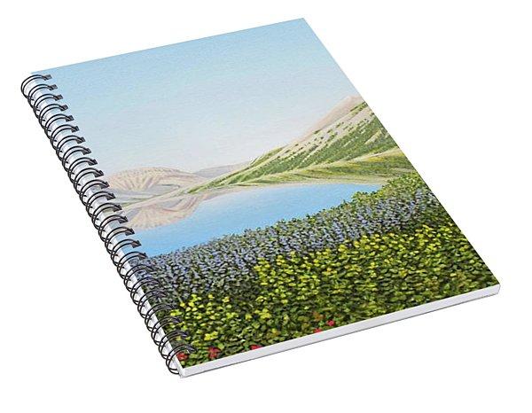 Yukon Spring Spiral Notebook