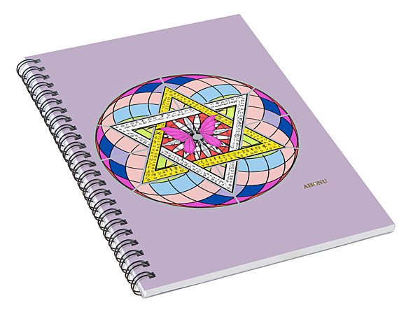 Eager Soul Portrait Spiral Notebook