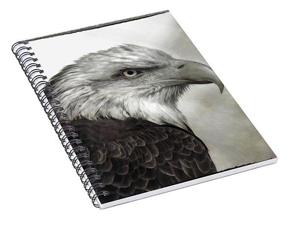 Eagle Protrait Spiral Notebook