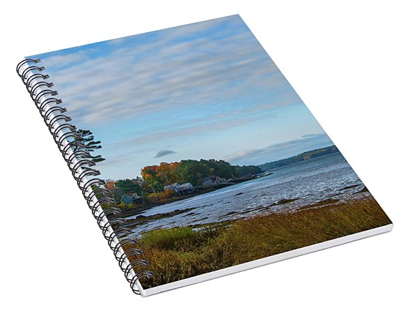 Edgecomb Maine Spiral Notebook