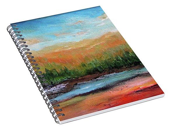 Edged Habitat Spiral Notebook