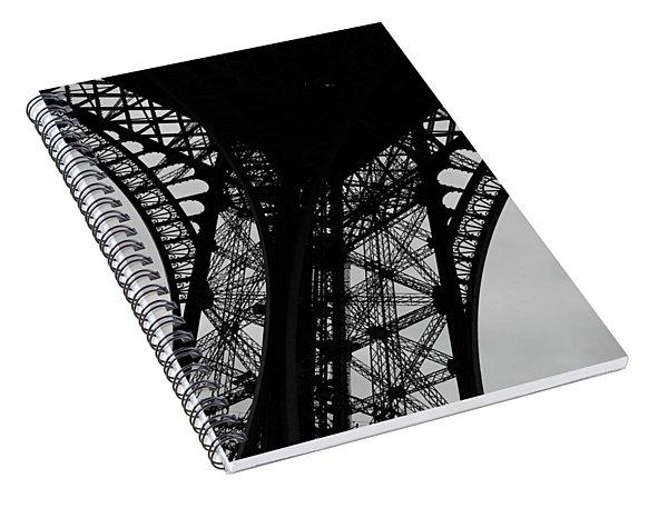 Eiffel Tower, Base Spiral Notebook