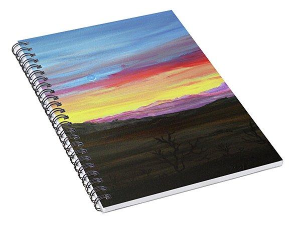 Elephant Head Twilight  Spiral Notebook