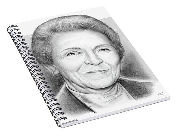 Elisabeth Elliot Spiral Notebook