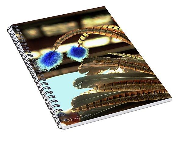 Feathers Of A Headdress Spiral Notebook