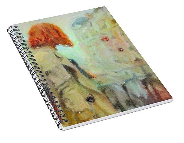 Feel The Rain Spiral Notebook