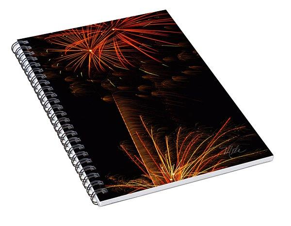 Fireworks Bang Bang Spiral Notebook