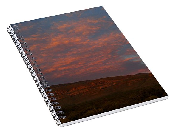 First Light Over Texas 3 Spiral Notebook
