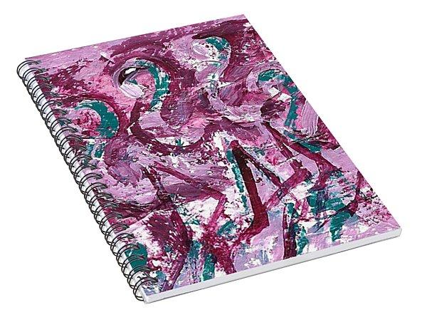 Flamingo Expression Spiral Notebook