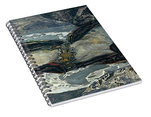 Flying Demon Spiral Notebook