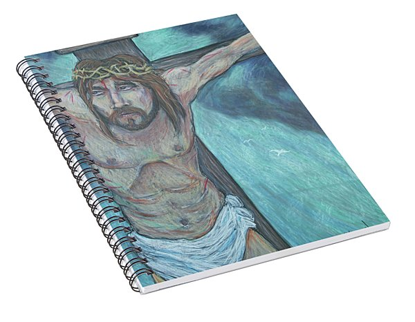 Forgive Them Father  Spiral Notebook