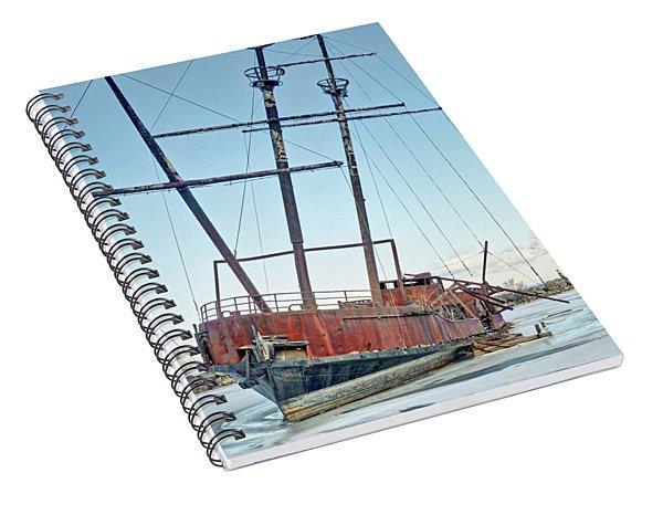 Forgotten Landmark Spiral Notebook