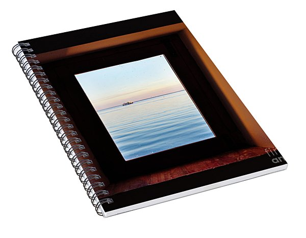 Framing The Frame Spiral Notebook