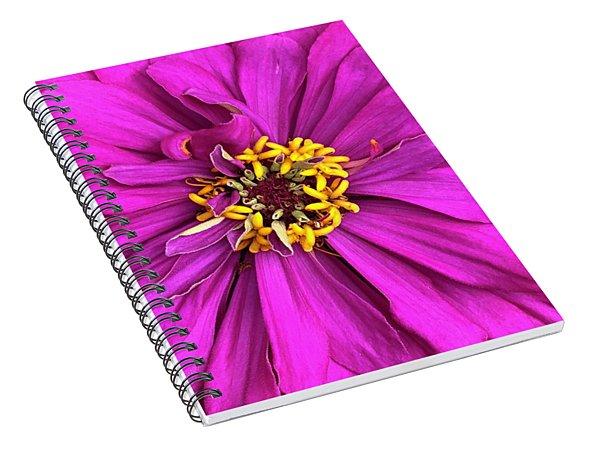 Fuschia Bloom Spiral Notebook