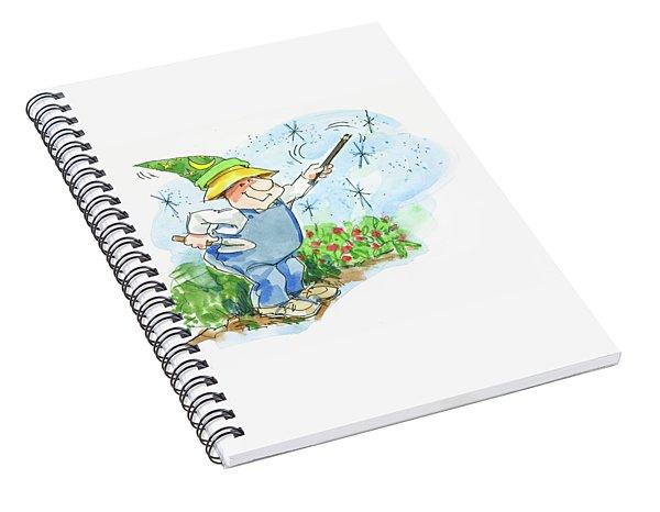 Garden Magic Spiral Notebook