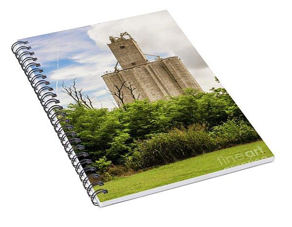 Geary Grain Elevator Spiral Notebook