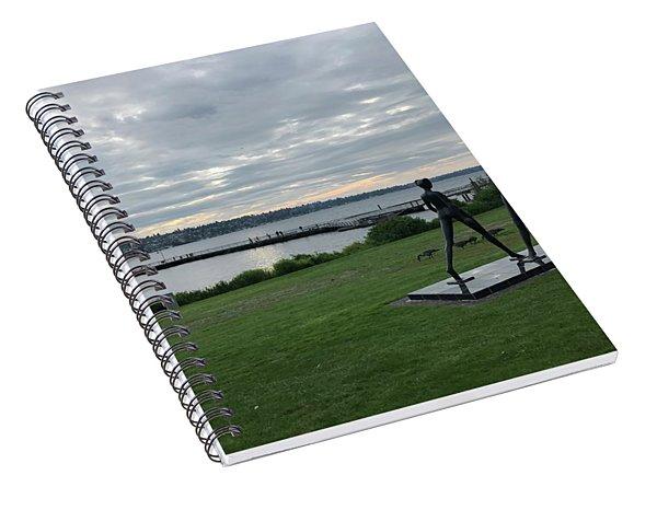 Gene Colon Memorial Beach Park Spiral Notebook
