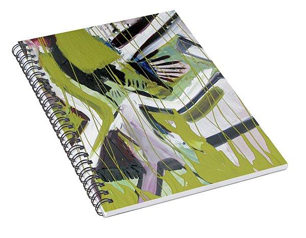 Gold Steps Spiral Notebook